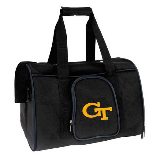 CLGTL901: NCAA Georgia Tech Yellow Jckts Pet Carrier Premium 16in bag